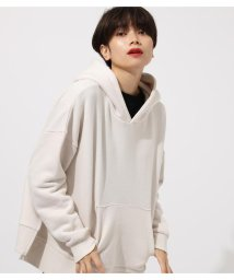 AZUL by moussy/【11/25ヒルナンデス!紹介】SIDE SLIT LAZY HOODIE/502596647