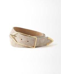 Spick & Span/【COCO SANDS】Snake Leather Belt / スネークレザーベルト◆/502597905