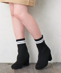 MAJESTIC LEGON OUTLET/【WEB限定】ラインリブブーツ/502598005