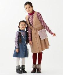 KUMIKYOKU KIDS/【150-160cm】コーデュロイ2WAY ワンピース/502598528