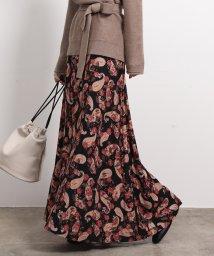 ROPE' mademoiselle/【セットアップ対応】ペイズリーマキシスカート/502598555