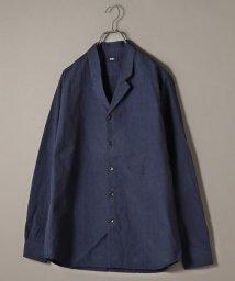 SHIPS MEN/SU: ビッグシルエット オープンカラー シャツ ジャケット/502599111