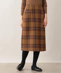 MACKINTOSH PHILOSOPHY/ハリスツイードタイトスカート/502501070