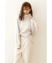 PROPORTION BODY DRESSING/モヘヤタートルネックニット/502508300