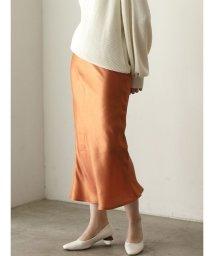 LAGUNAMOON/サテンナロースカート/502561935