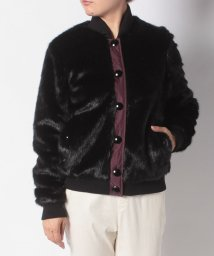 HUNTER/WOMENS REFINED FAUX FUR BOMBER/502582811
