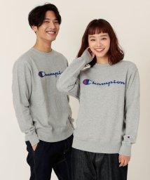 coen/【女性にもオススメ】Champion(チャンピオン)ロゴプリントベーシッククルーネックスウェットシャツ/502588967
