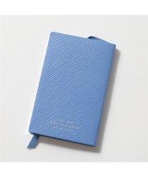 SMYTHSON/UNITITLED WFR FR 1018242 レザー ノートブック 手帳 メモ帳 ジャーナル NILE-BLUE レディース/502597126