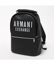 ARMANI EXCHANGE/952177 9A024 00020 エコレザー バッグ リュック バックパック BLACK メンズ/502597129