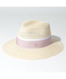 Maison Michel/1002049003  HENRIETTA HAT ストロー ハット 中折れ帽 帽子 NaturalPink レディース/502597137