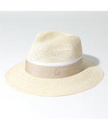 Maison Michel/1002049001 HENRIETTA HAT ストロー ハット 中折れ帽 帽子 NaturalBeige レディース/502597138