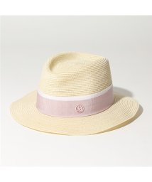Maison Michel/1003038003 ANDRE HAT ストローハット 帽子 NATURAL-PINK レディース/502597148