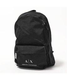 ARMANI EXCHANGE/952103 CC511 ナイロン バッグ リュック バックパック 00020/BLACK メンズ/502597177