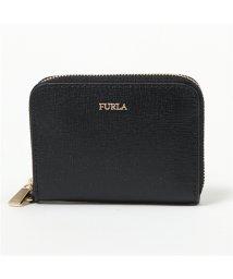 FURLA/996695 PBD2 B30 BABYLON S ZIP AROUN レザー カードケース コインケース ミニ財布 ONYX レディース/502597191