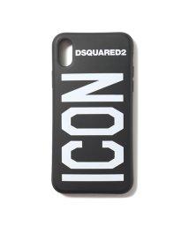 DSQUARED2/ITM0051 55000001 M063 iPhoneX/XS専用ケース 携帯 スマホ スマートフォン カバー NERO+BIANCO メンズ/502597214