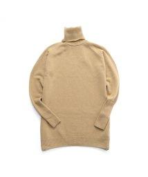 JOHN SMEDLEY/BEALE カシミヤ混 タートルネック ニット セーター チュニック カラー4色 レディース/502597249