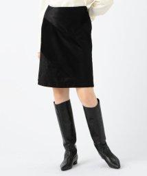 DES PRES/リキッドコーデュロイ トラペーズスカート/502599462