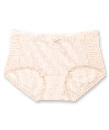 fran de lingerie/Micro Modal Shorts マイクロモダールヒップハンガーショーツ ボーダー/502600435