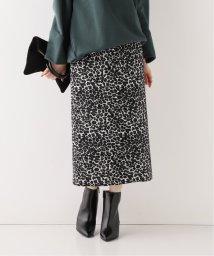 Spick & Span/レオパードタイトスカート/502600642