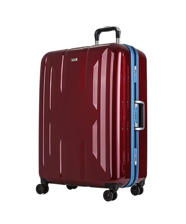 カバンのセレクション スーツケース Lサイズ エース ACE 90L フレームタイプ TSAロック Z.N.Y ゼット・エヌ・ワイ ラウビル 軽量 国内旅行 海外旅行 06382 ユニセックス レッド フリー 【Bag & Luggage SELECTIO