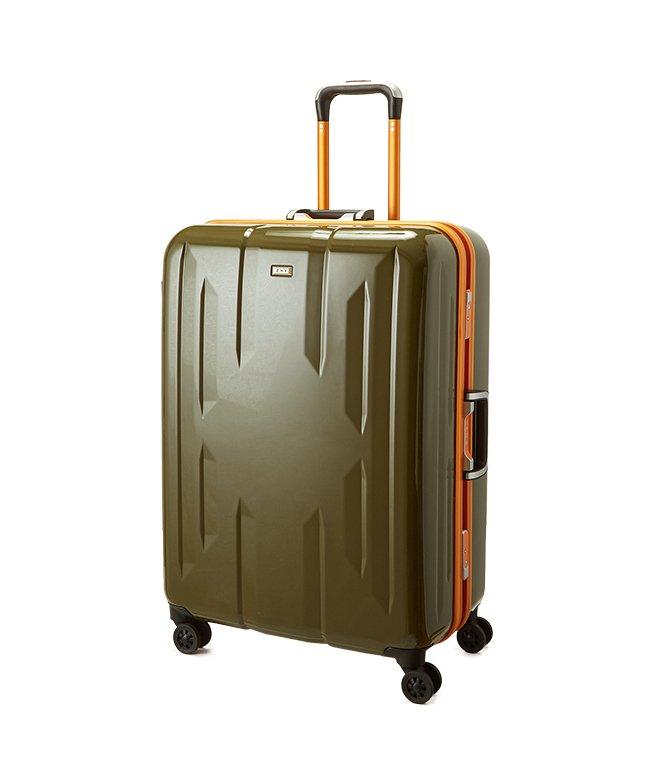 カバンのセレクション スーツケース Lサイズ エース ACE 90L フレームタイプ TSAロック Z.N.Y ゼット・エヌ・ワイ ラウビル 軽量 国内旅行 海外旅行 06382 ユニセックス カーキ フリー 【Bag & Luggage SELECTIO