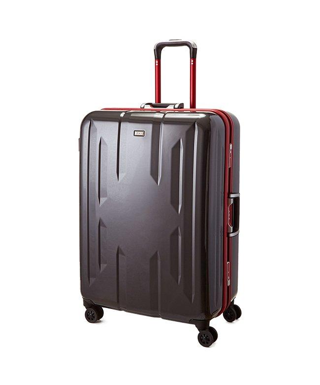 カバンのセレクション スーツケース Lサイズ エース ACE 90L フレームタイプ TSAロック Z.N.Y ゼット・エヌ・ワイ ラウビル 軽量 国内旅行 海外旅行 06382 ユニセックス ガンメタリック フリー 【Bag & Luggage SELE