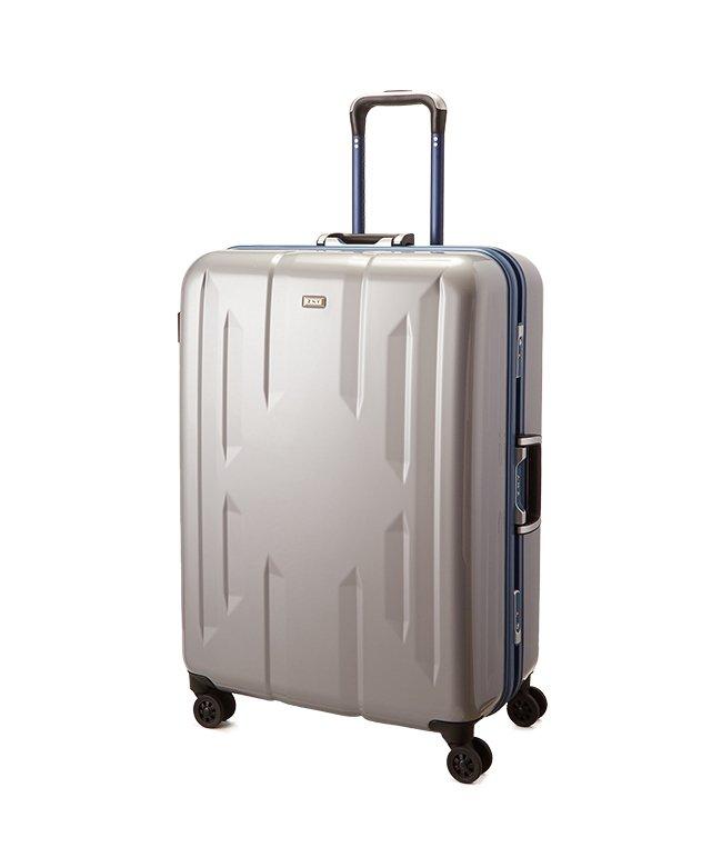 カバンのセレクション スーツケース Lサイズ エース ACE 90L フレームタイプ TSAロック Z.N.Y ゼット・エヌ・ワイ ラウビル 軽量 国内旅行 海外旅行 06382 ユニセックス シルバー フリー 【Bag & Luggage SELECTI