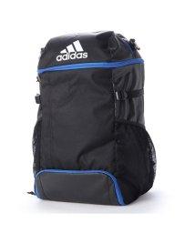 adidas/アディダス adidas サッカー/フットサル バックパック ボール用デイパック 黒色×青色 ADP31BKB/502603025