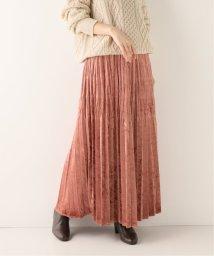 SLOBE IENA/クラッシュベロアプリーツスカート/502603935