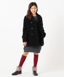 KUMIKYOKU KIDS/【150-170cm】ピーコート/502603958
