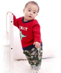 e-baby/裏毛恐竜プリントカバーオール/502552253