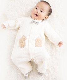 e-baby/キルトクマボアパッチカバーオール/502552254