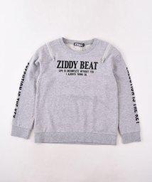 ZIDDY/肩ファスナーミニ裏毛トレーナー/502552386