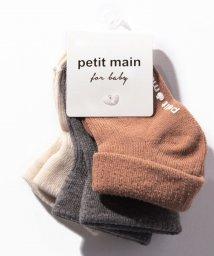 petit main/BABY無地ソックス3Pセット/502582660