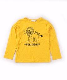 SLAP SLIP/天竺アニマルプリントTシャツ/502584563