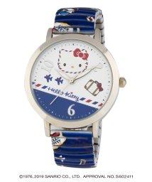CREPHA PLUS/ハローキティ HELLO KITTY 腕時計 アナログウオッチ レディース キッズ 【HK-A1671-BLS】/502597614