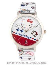 CREPHA PLUS/ハローキティ HELLO KITTY 腕時計 アナログウオッチ レディース キッズ 【HK-A1672-WTS】/502597615