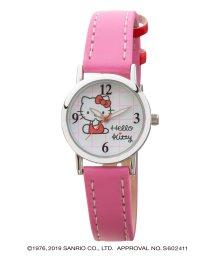 CREPHA PLUS/ハローキティ HELLO KITTY 腕時計 アナログウオッチ レディース キッズ 【HK-AL1621-PKS】/502597616