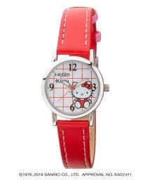 CREPHA PLUS/ハローキティ HELLO KITTY 腕時計 アナログウオッチ レディース キッズ 【HK-AL1622-RDS】/502597617