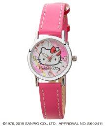 CREPHA PLUS/ハローキティ HELLO KITTY 腕時計 アナログウオッチ レディース キッズ 【HK-AL1631-PKS】/502597619