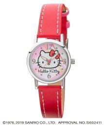 CREPHA PLUS/ハローキティ HELLO KITTY 腕時計 アナログウオッチ レディース キッズ 【HK-AL1632-RDS】/502597620