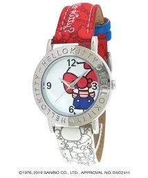 CREPHA PLUS/ハローキティ HELLO KITTY 腕時計 アナログウオッチ レディース キッズ 【HK-AL1661-RDW】/502597627