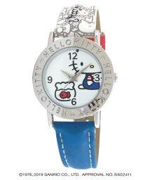 CREPHA PLUS/ハローキティ HELLO KITTY 腕時計 アナログウオッチ レディース キッズ 【HK-AL1662-WTB】/502597628