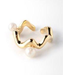 Spick & Span/【Soierie】Bogen pearl ear cuff / ボーゲンパールイヤーカフ/502604891