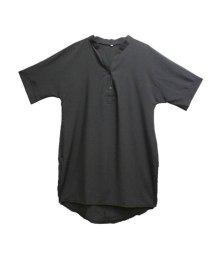AMOUR BOX/アムールボックス AMOUR BOX シャツ ロングシャツ 新作 スキッパー スキッパーシャツ (ブラック)/502605846