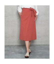 Jewelobe/ジュエローブ Jewelobe ストライプラップスカート (オレンジ)/502606805
