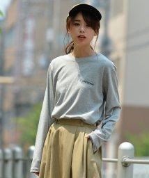 revenil/CONVERSE天竺ワンポイント刺繍ユニセックスロンTシャツ/502609715