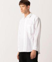 EDITION/Edition フィンクスコットンウェザークロス レギュラーカラーシャツ/502609929