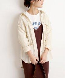 SLOBE IENA/コットンBIGシャツ/502610135