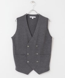 URBAN RESEARCH DOORS/LIFE STYLE TAILOR Harmony Double Knit Vest/502610795